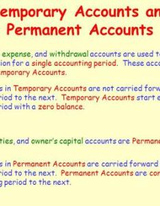 Temporary accounts and permanent also posting journal entries to general ledger ppt download rh slideplayer