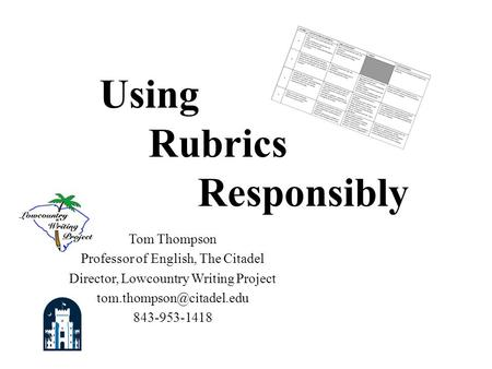 Regents controlling idea essay rubric