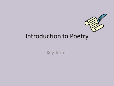 Sheltered English Crash Course in Poetry Day #4. Sheltered