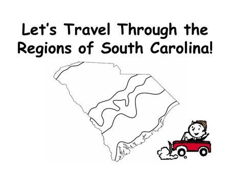 South Carolina Landform Regions (and facts about Landforms