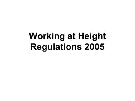 Control of Substances Hazardous to Health Regulations 2002