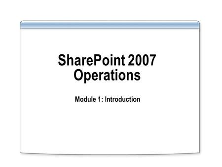Course 2071B: Querying Microsoft ® SQL Server ™ 2000 with