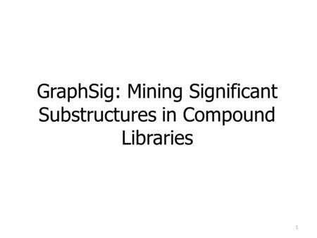 Topological Summaries: Using Graphs for Chemical Searching