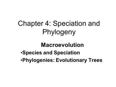 Mechanisms of Evolution Convergent Divergent Adaptive