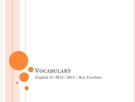 SadlierOxford Vocabulary Level G Unit 12 Cathy Murphy