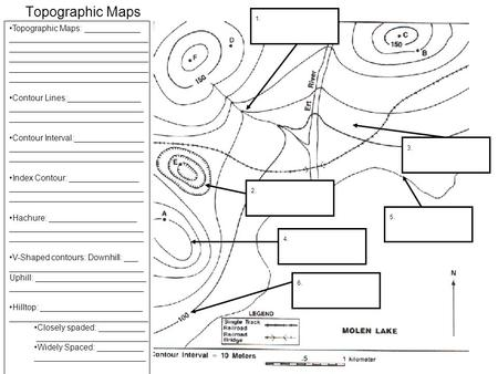 8th Grade » Topographic Maps Worksheets 8th Grade