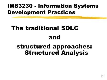 Section 02Systems Documentation1 02 Systems Documentation