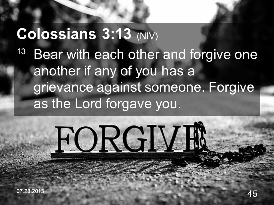 Image result for colossians 3 13