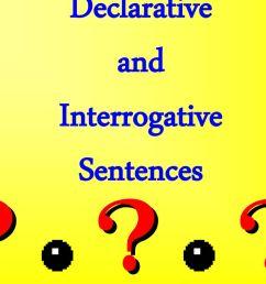 Declarative and Interrogative Sentences - ppt download [ 768 x 1024 Pixel ]