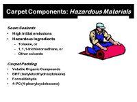 Formaldehyde In Carpet Padding - Carpet Vidalondon
