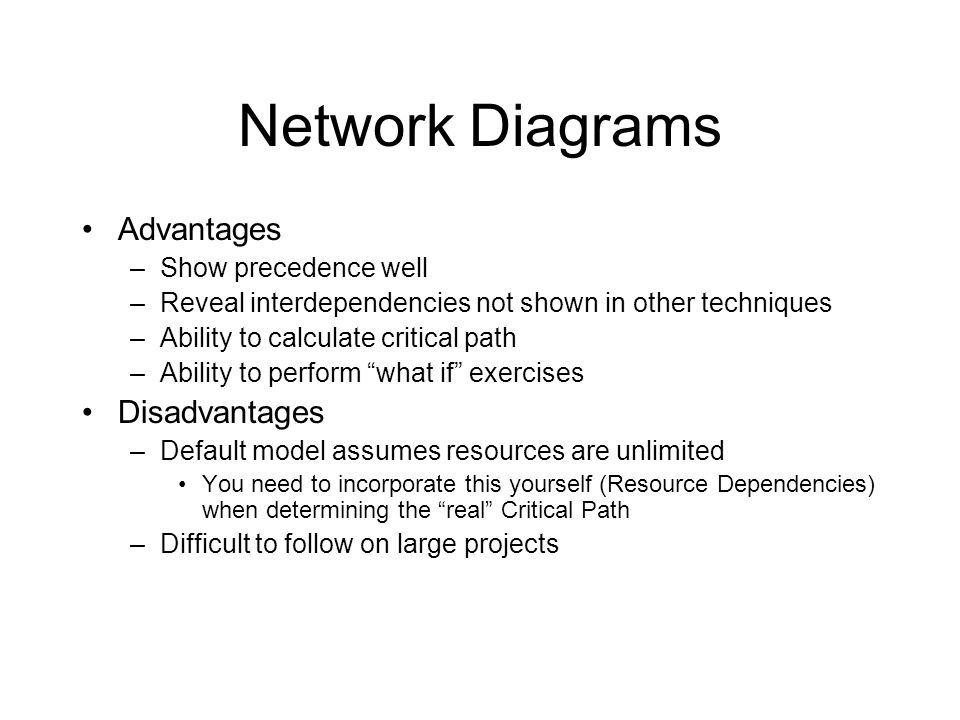 28 Advantages And Disadvantages Of Network Diagrams In Project