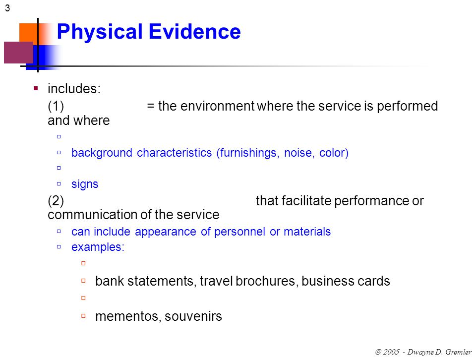 Physical Evidence And The Servicescape Chapter 11 Ppt