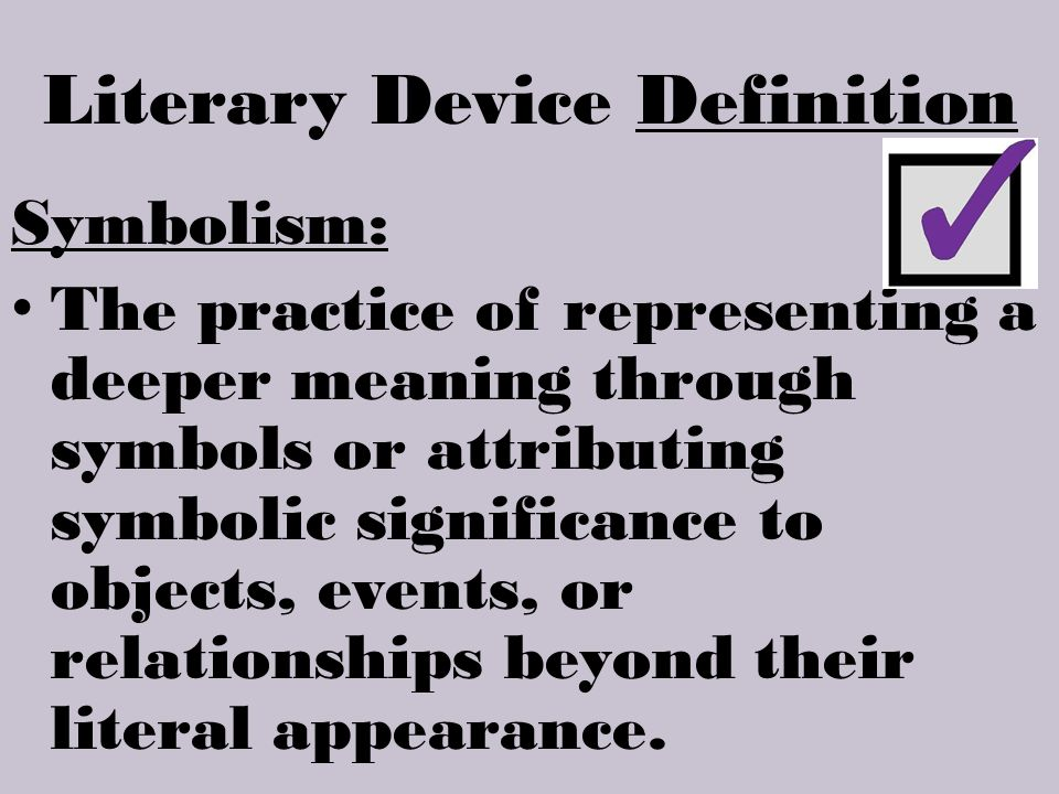 ENG1DB Examining Literary Devices Definitions And