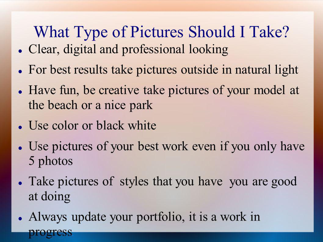 How To Create Your Cosmetology Portfolio Ppt Download