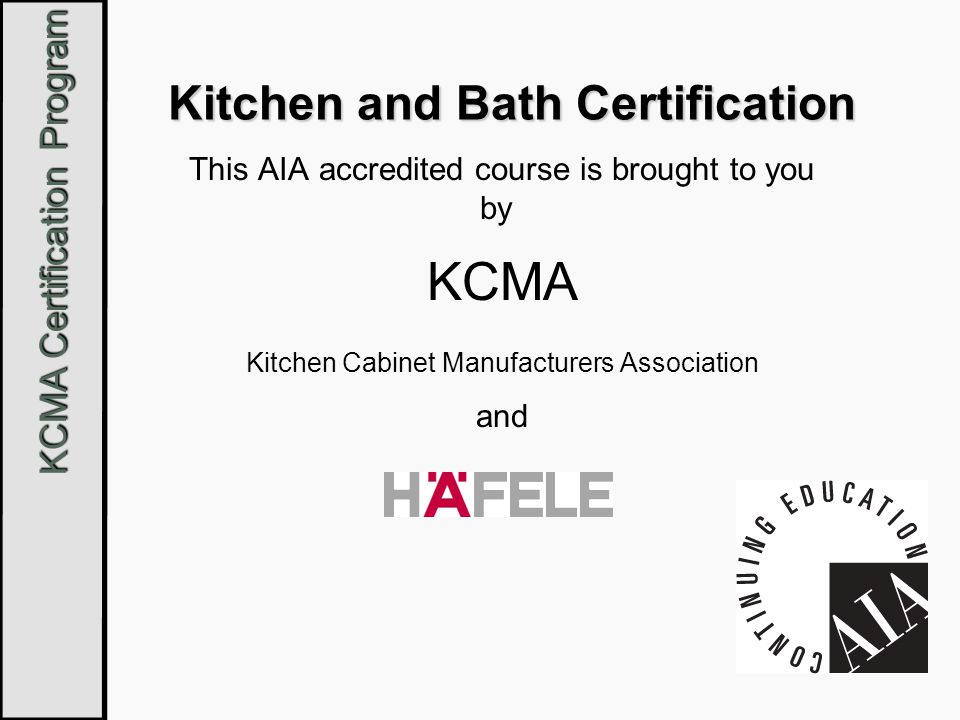 Kitchen And Bathroom Design Courses