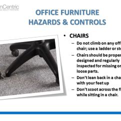 Office Chair Online On Dance Safety For The Environment - Ppt Video Download