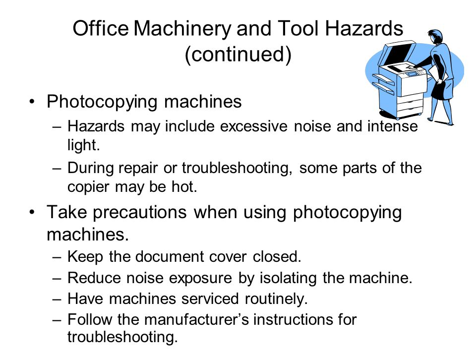 Safety and Health in the Office  ppt video online download