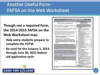 Fafsa On The Web Federal Aid Financial Aid .html | Autos ...