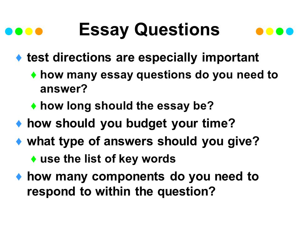 Important Questions To Answer In A Research Paper Custom Paper