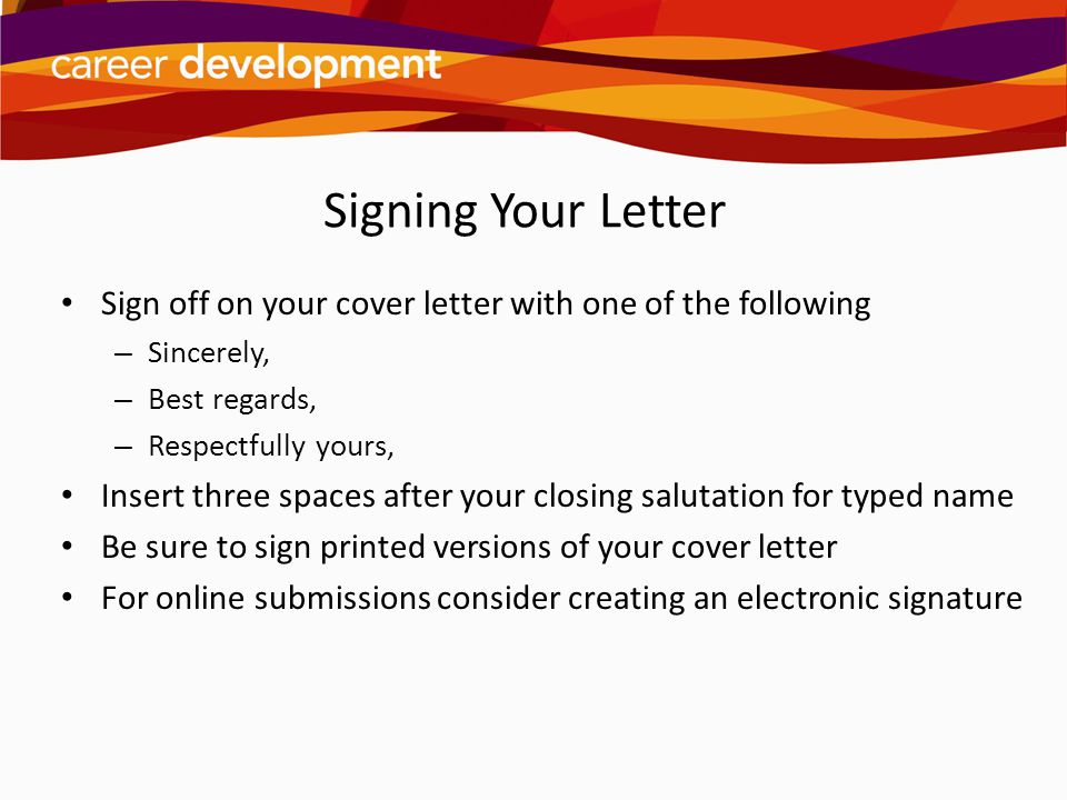 Writing Cover Letters Ppt Video Online Download
