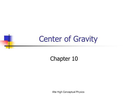 CHAPTER 9 DAY SOLVING PROBLEMS WITH STATICS *See