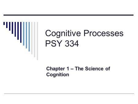 Psychologia poznawcza Cognitive science Cognitive
