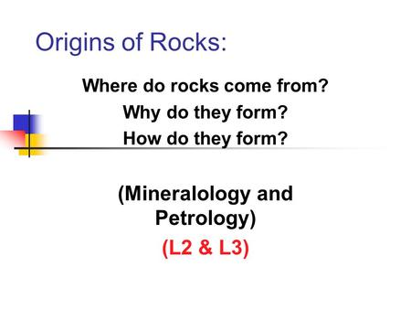 Earth Science 2.2 Minerals. A mineral is a naturally