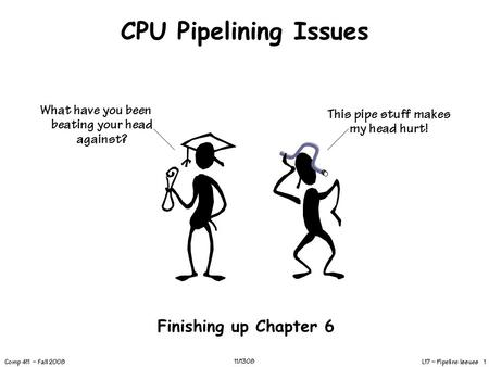 1 Appendix C Pipelining: Basic and Intermediate Concepts
