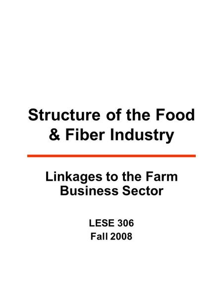 © Mcgraw-Hill Companies, 2008 Farm Management Chapter 1