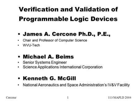 1 SAS '04 Reducing Software Security Risk through an
