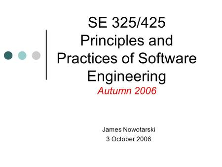James Nowotarski 18 September ppt download