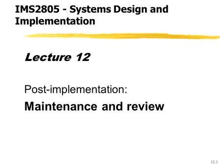 INFORMATION SYSTEMS DEVELOPMENT THE SYSTEMS DEVELOPMENT