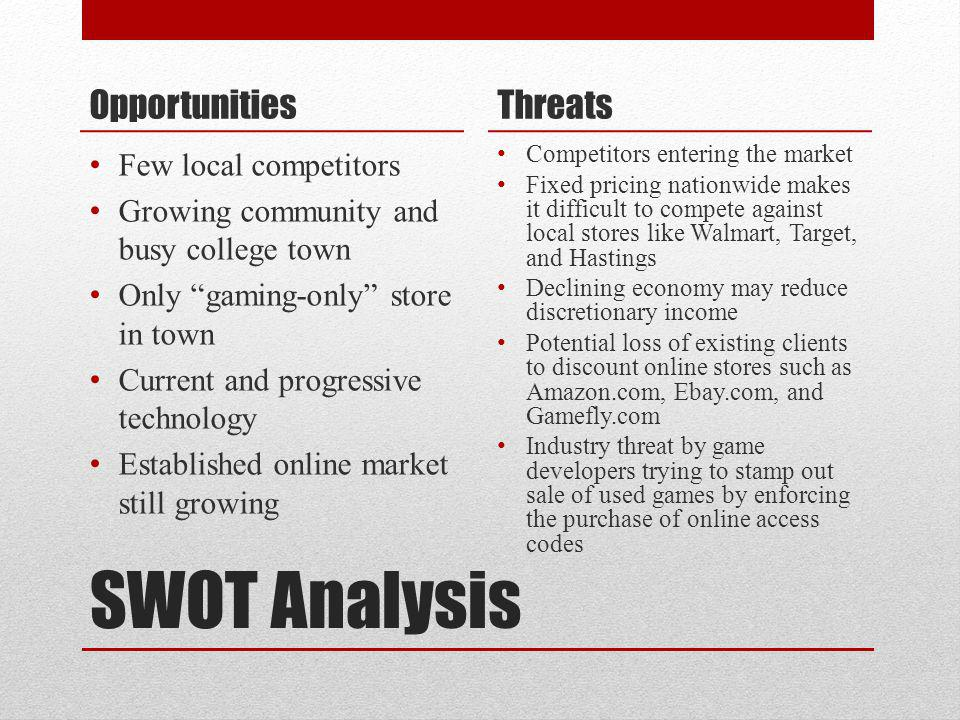 GameStop Marketing Plan Ppt Video Online Download