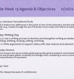 8th Grade Week 13 Agenda \u0026 Objectives 11/26/12-11/29/12 - ppt download [ 768 x 1024 Pixel ]
