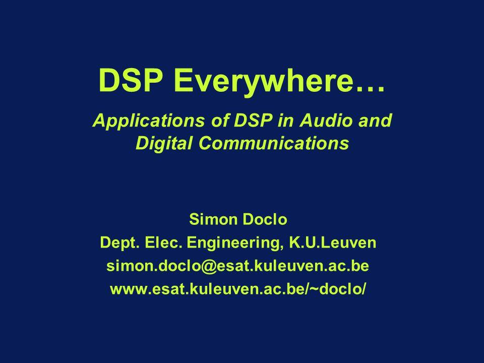 Dept Elec Engineering KULeuven  ppt video online download