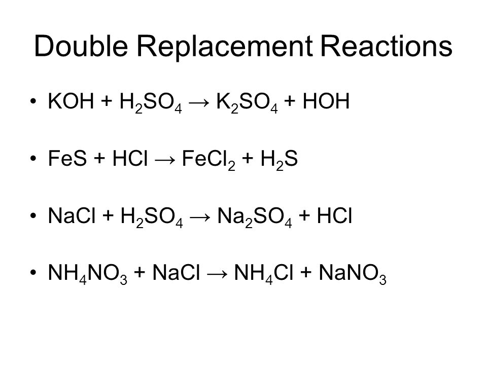 Classifying Chemical Reactions  Ppt Video Online Download
