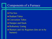 Furnaces also called Fired Heaters - ppt video online download