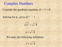 Quadratic Equations Complex Numbers Worksheet - Kidz ...