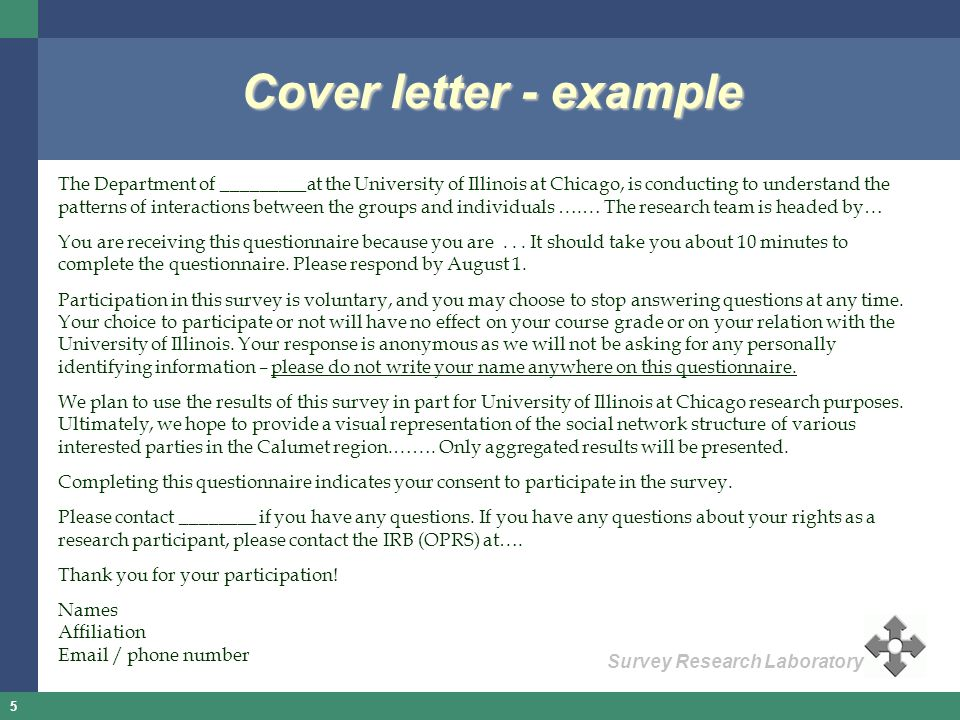 Questionnaire Design Clinic  ppt video online download