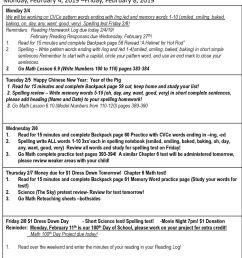 First Grade Homework Monday [ 1365 x 1024 Pixel ]