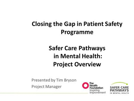 Oxford AHSN Patient Safety Collaborative November ppt download