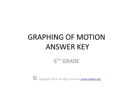 Clicker Questions for Forces and Motion Activity 2