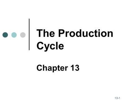 Production Cycle Kevin Ma Steven Radcliff Jie Chen Ernesto