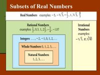 Ordering Numbers Worksheets  Subsets Of Real Numbers ...