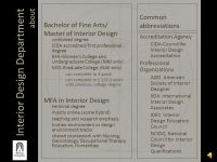 Interior Design Department - ppt video online download