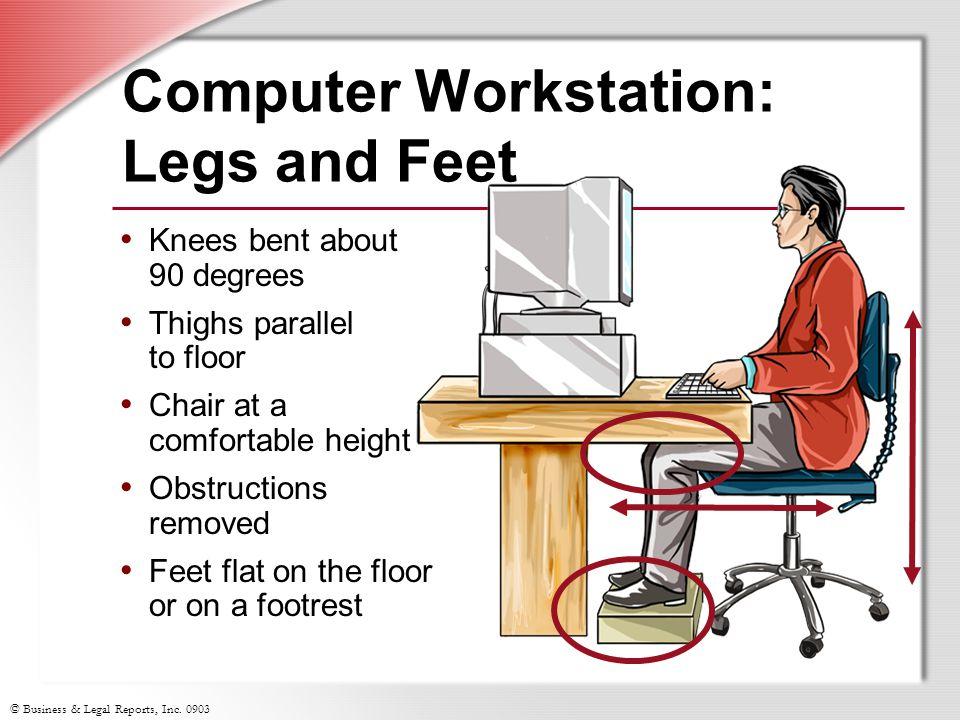 Office Ergonomics Slide Show Notes  ppt download