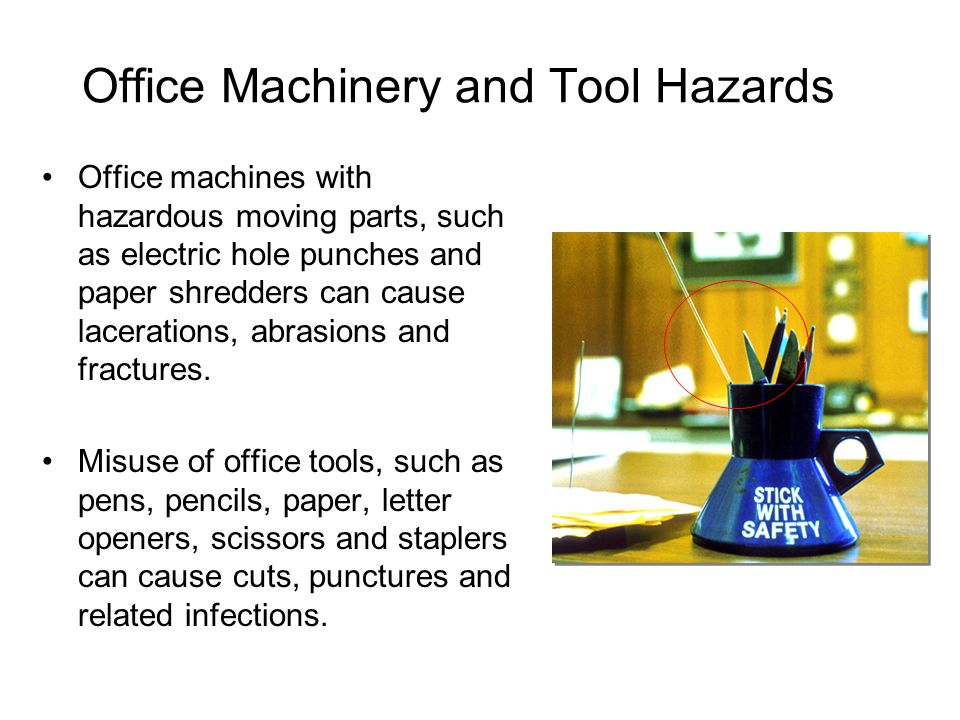 Office Safety and Health  ppt video online download
