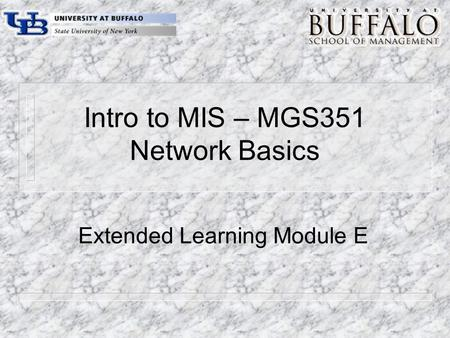 Chapter 5 LANs and WANs. Network Building Blocks Chapter 5