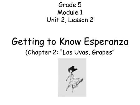 Grade 5, Module 1: Unit 2, Lesson ppt download