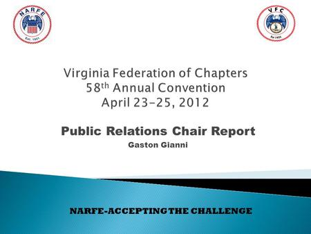 NARFE Chapter 1270 An Overview National Active and
